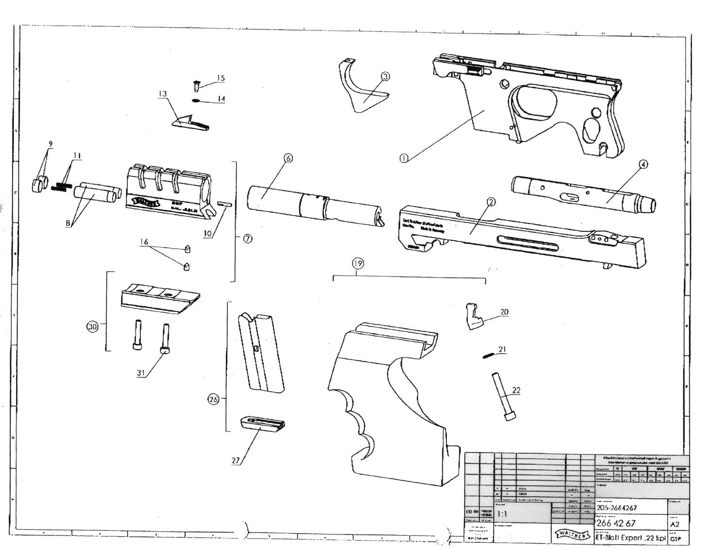 walther p99 diagram walther p22 parts diagram related keywords walther p22