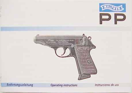 walthers pp owners manual free owners manual u2022 rh wordworksbysea com Walther PPS Schematic Walther PP Box